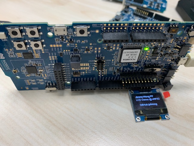 OLED display support for nRF52 Series – Jimmy's Things