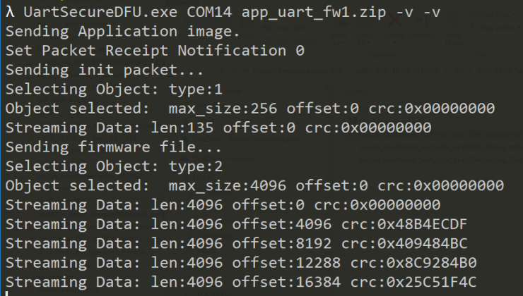 Serial UART DFU on nRF5 SDK (by using host tool instead of